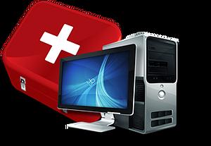 PC vaccin installation de matériel informatique